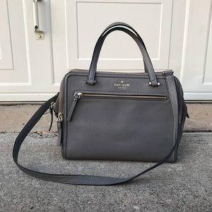 Kate Spade Gray Shoulder Bag